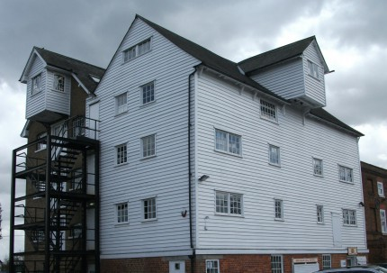 The outside of Moulsham Mill