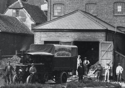 An old photo of the Mill